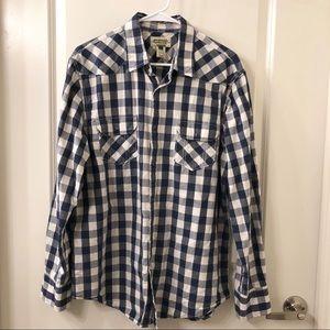 American Rag Men's Button Down Shirt